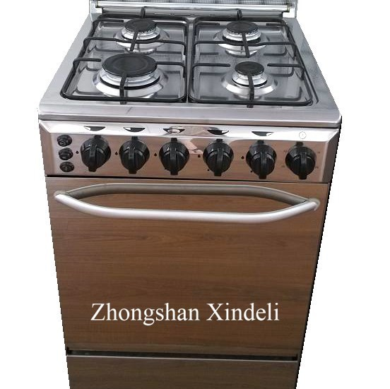General free standing gas cooker oven with glass top cover,outdoor camping gas oven uesd Euro pool burner for Ghana market