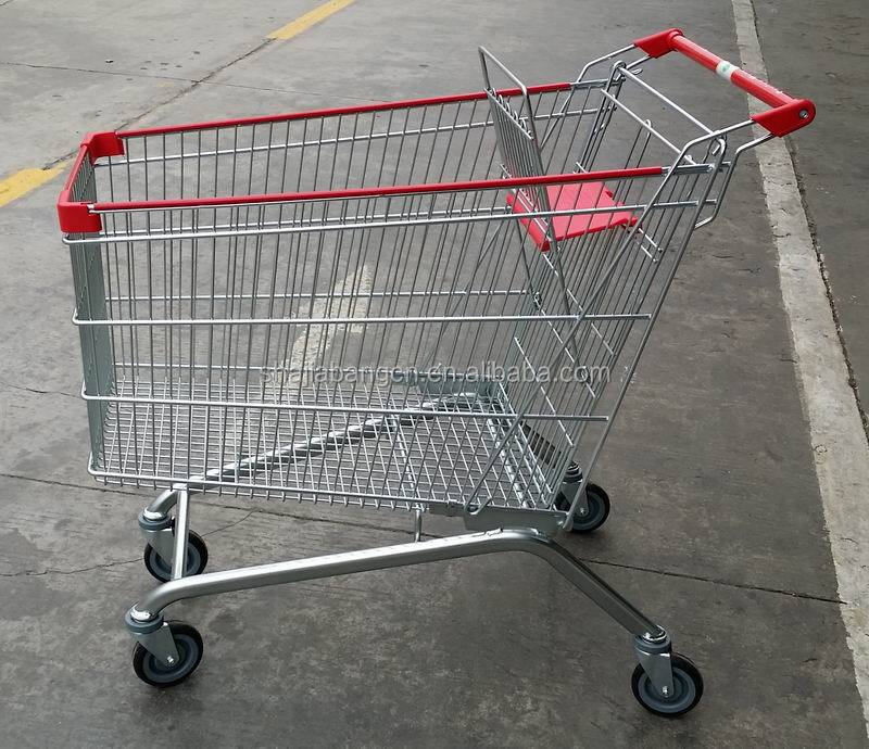 Shajiabang supermarket shopping trolley 240litres