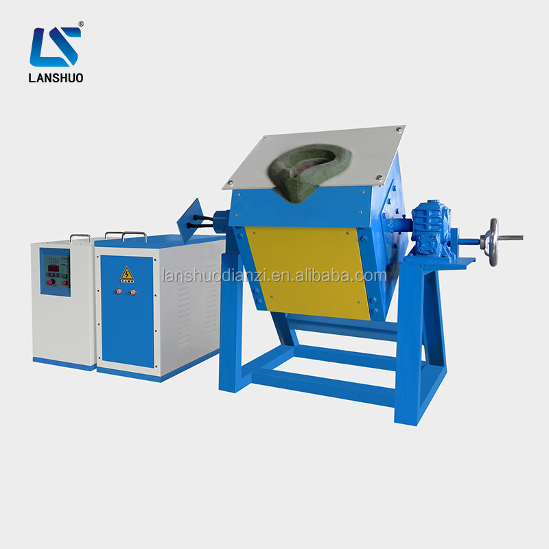 china made portable induction melting aluminium steel iron copper forging furnaces