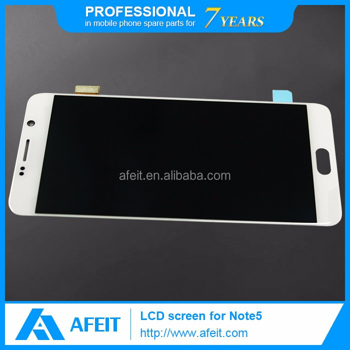 smartphone lcd original for samsung galaxy note 5 touch screen LCD 5.7 inch