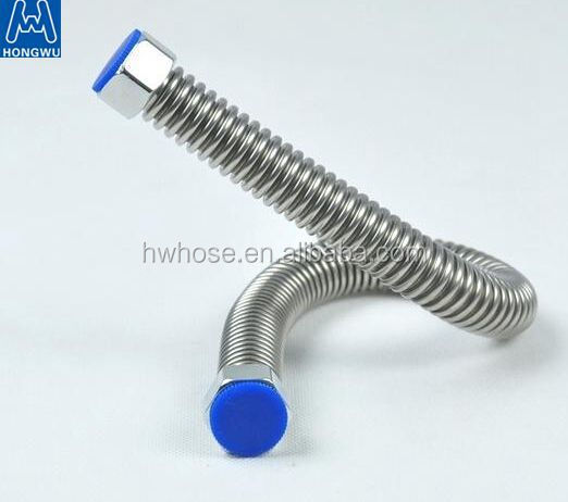 Stainless steel flexible corrugated plumbing hose for water connector made in China