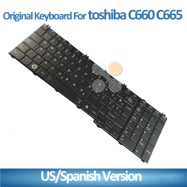 Arabic US UK Version Black keyboard For Toshiba C650 C655 C655D L650 L655 L670 L675 C660 Laptop Keyboard with 1 years warranty