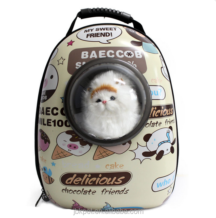 Breathable pet supplies cat carrier soft sided capsule pet dogs carrier