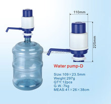 drinking water manual submersible handle pump