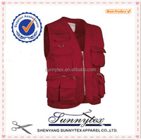 Men's Multi pocket Vest wholesale fishing vest