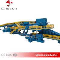 Various mechanical model of factory model
