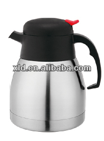 Old Stainless Steel Thermos Coffee Pot with teapot mouth