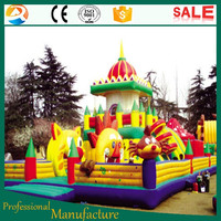 Fairground kiddie attraction Inflatable Jumping Castle For Sale