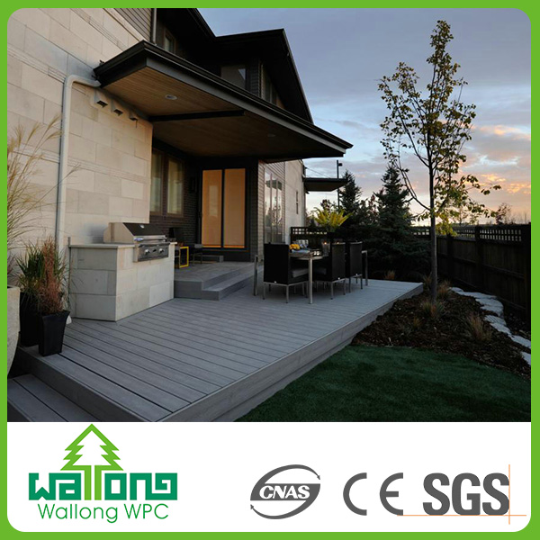 Rubber wood floor decking composite swimming pool wpc tile buyer