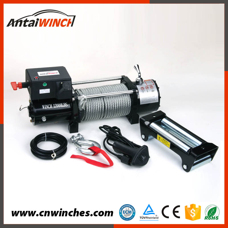 1 year warrantee traction 4x4 winch 12000lbs