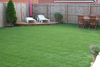 Attractive and maintenance-free artificial landscaping grass artificial carpet grass