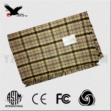 woolen acrlic/polyester blanket for military army home hotel soft warm