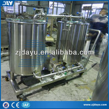 manual small scale cip washing system