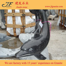 Shanxi Black Granite Modern Animal Abstract Stone Sculptures