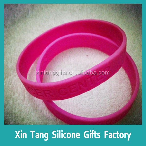 Guangdong wristbands silicone/silicone bracelet with charm for kids,sports team silicone wristband