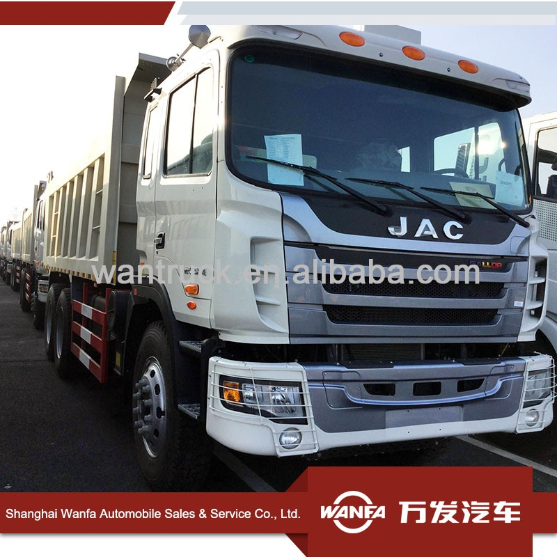 china factory construction trucks 30T 380hp 6x4 JAC tipper for kenya