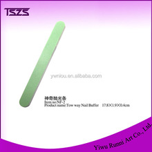 wholesale two way magic nail art Spong Buffer And File Nail Care Tool