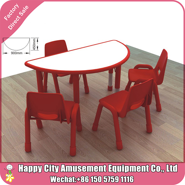 Free daycare center plastic kids used school furniture kindergarten pre school learning furniture for sale