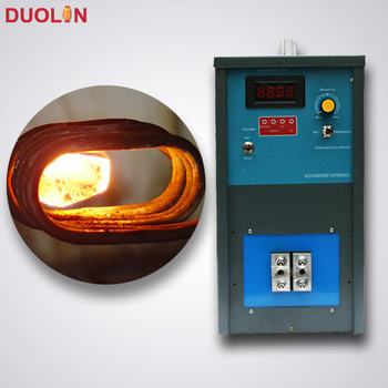high efficiency induction blade brazing machine