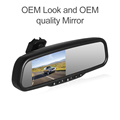 oem bracket 1080p car rear view mirror monitor with dvr