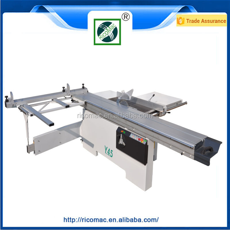 3.2mm Y45 Woodworking Panel Sliding Table Saw
