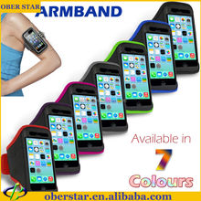 Mobile case For iPhone 5c cover Water proof Sport jogging running gym armband Strap Case