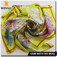 design 2014 design silk scarf 40x40 , best silk scarf for evening dress,plain style and printed pattern silk scarf
