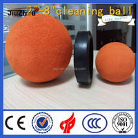 rubber ball for concrete pump pipe cleaning/concrete line pump spare parts