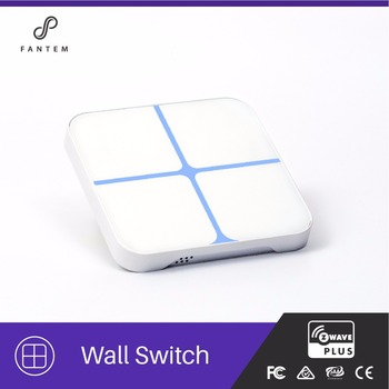 Z Wave Smart Home Automation Wireless Controller Z Wave Double Pole Lighttouch Switch