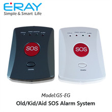 Hot Sell Portable Personal Emergency Alarm for senior/kids/medical alert with necklace/wristwatch panic button