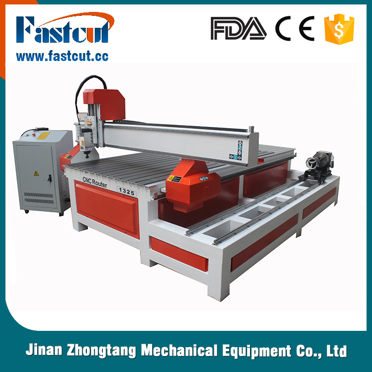 High quality 4 axis cnc wood router machine for door maker