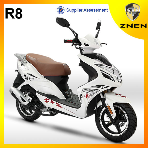 R8-ZNEN EURO 4 EFI Scooter 125CC 49CC gas scooter