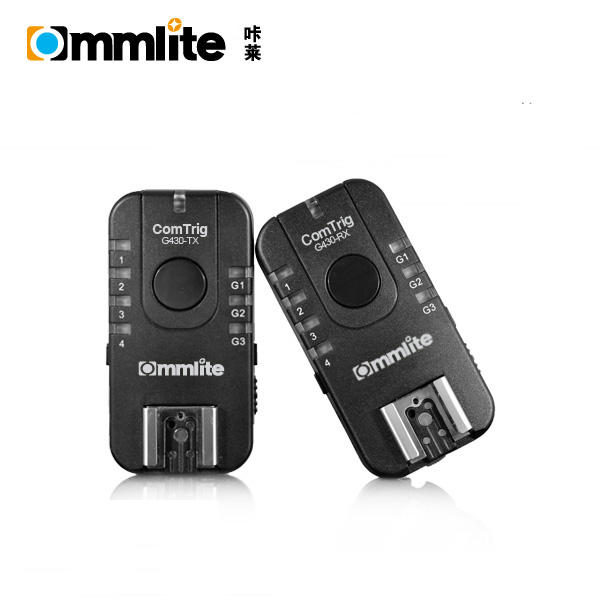 Multi-functional 'ComTrig' G430 Groups Flash Trigger Receiver for Canon, for Olympus