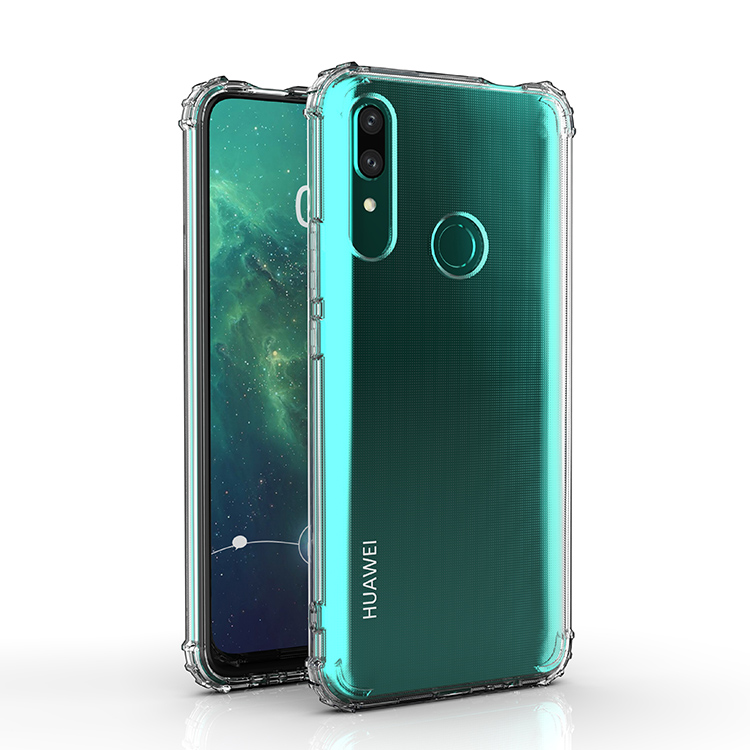 Transparent Soft Phone Case TPU Cover For Huawei P Smsrt <strong>Z</strong> / Y9 Prime 2019