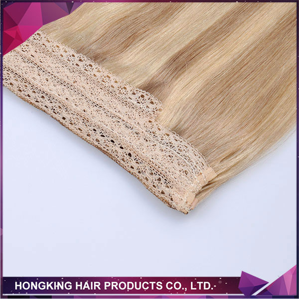 human hair cheap wholesale price halo hair extension