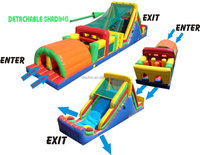 damp proof course material/Adult Inflatable Obstacle Course for kids or adults