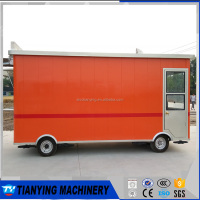Mobile kitchen food van/Food bus for Fried chicken and chips