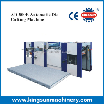 AD-800E Model automatic creasing and die cutting machine