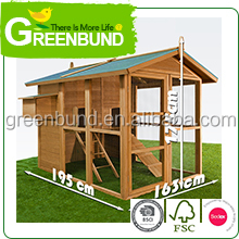 Chicken Coop Poultry Hen House Cage Rabbit Hutch Bird avery