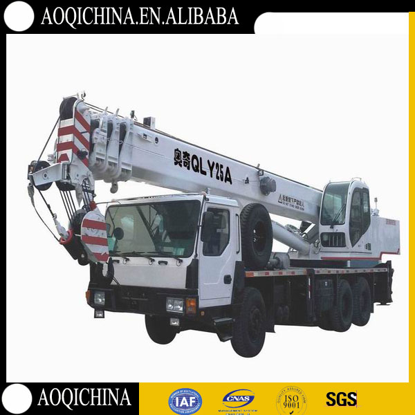 2015 hot sales cheap high quality 25t truck crane qy25