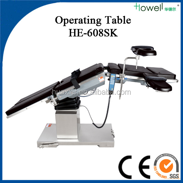 medical equipment names of Howell-electric hydraulic operating table