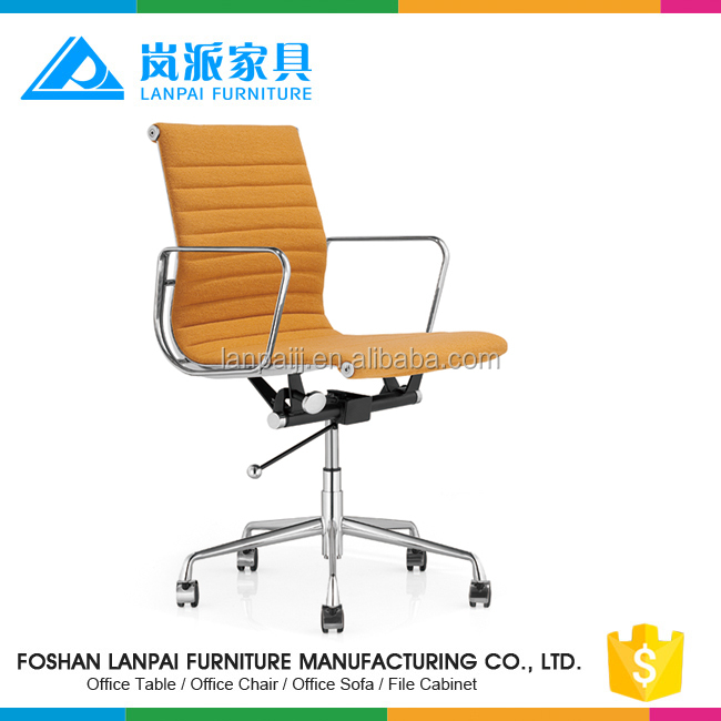 orange color director chairs executive metal chairs with high quality cushion EM02B