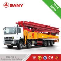 SANY SY5530THB C8 Series Truck-mounted Concrete Pump 62M Concrete Pumps Truck Sale