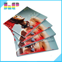 High Quality Printing Paperback Indian Jewelry Catalog Free fashion wholesale