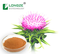 Silybum Marianum Extract powder milk thistle extract Silymarin 80% UV Silybin 15%-50% for Improving liver function
