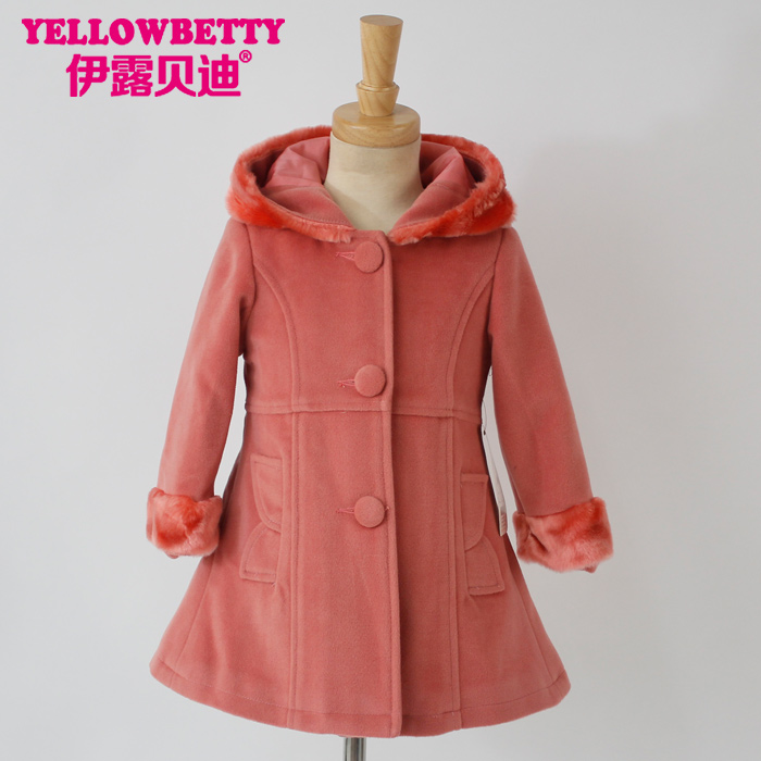 Hot sale winter wholesale children's boutique clothing, childrens coat ,boutique girl clothing