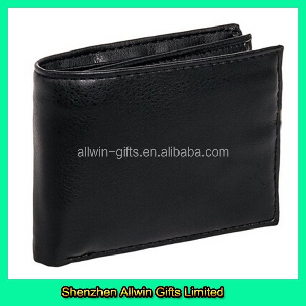 Customized Foldable PU Material Man Leather Wallet