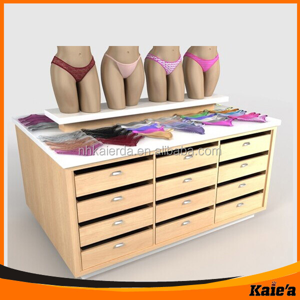 Ladies shop decoration design for underwear