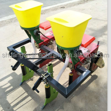 Small tractor 3 point mounted 2 rows corn planter /precision corn seeder machine