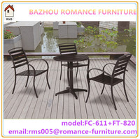 outdoor dining set heavy duty outdoor furniture rooms to go outdoor furniture FC-611+FT-820